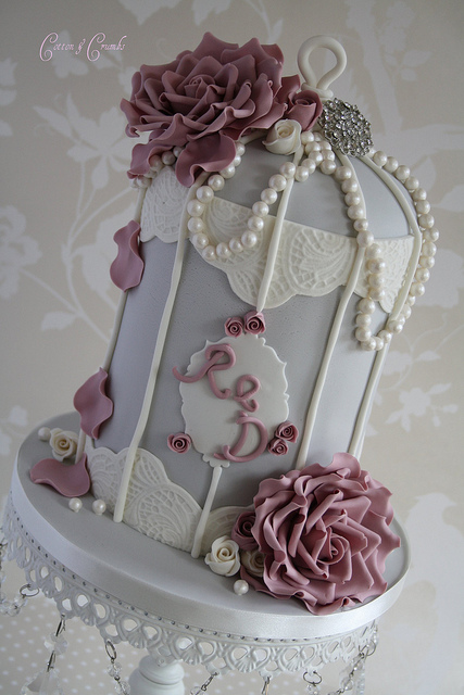 birdcage cake Cotton et Crumbs