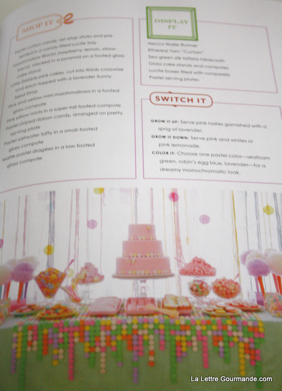 Le livre Sweet Designs, par Amy Atlas 3