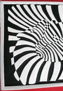Le Zebra Couple, de Victor Vasarely