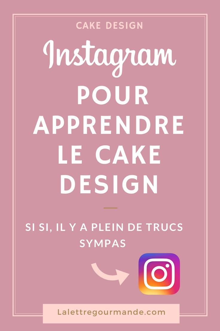 cake design instagram